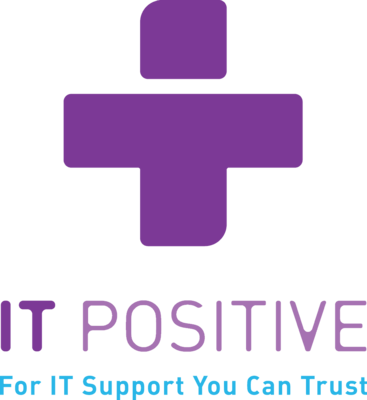 Small it positive logo without background